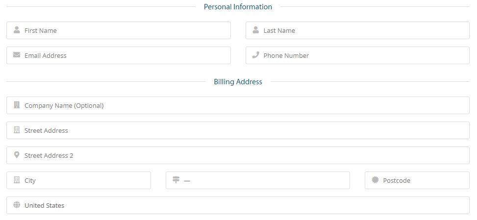 personal details for domain buy