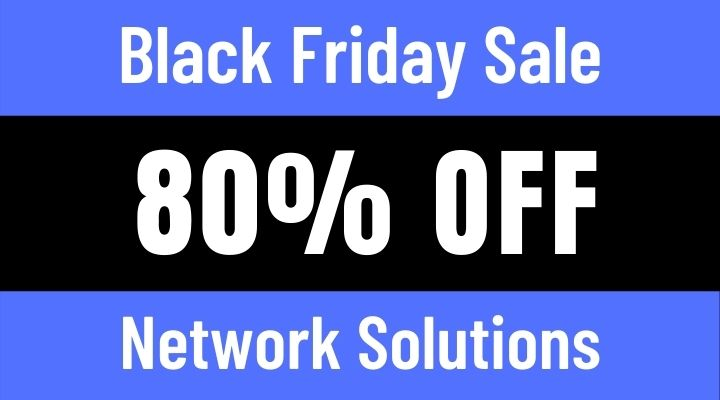 network solutions black friday sale