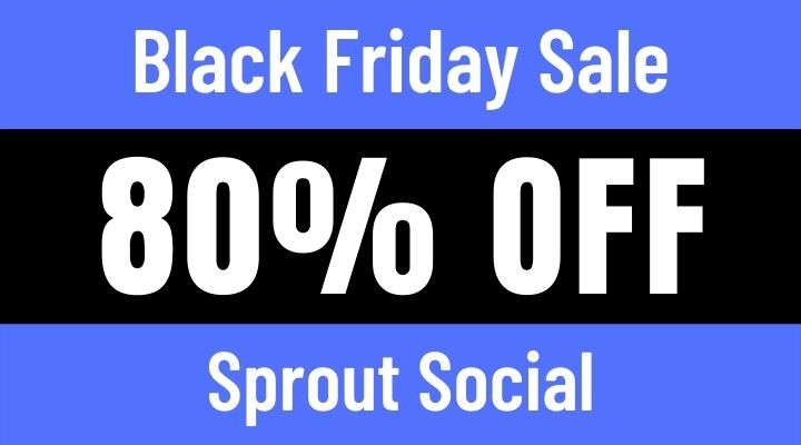 sprout social black friday sale